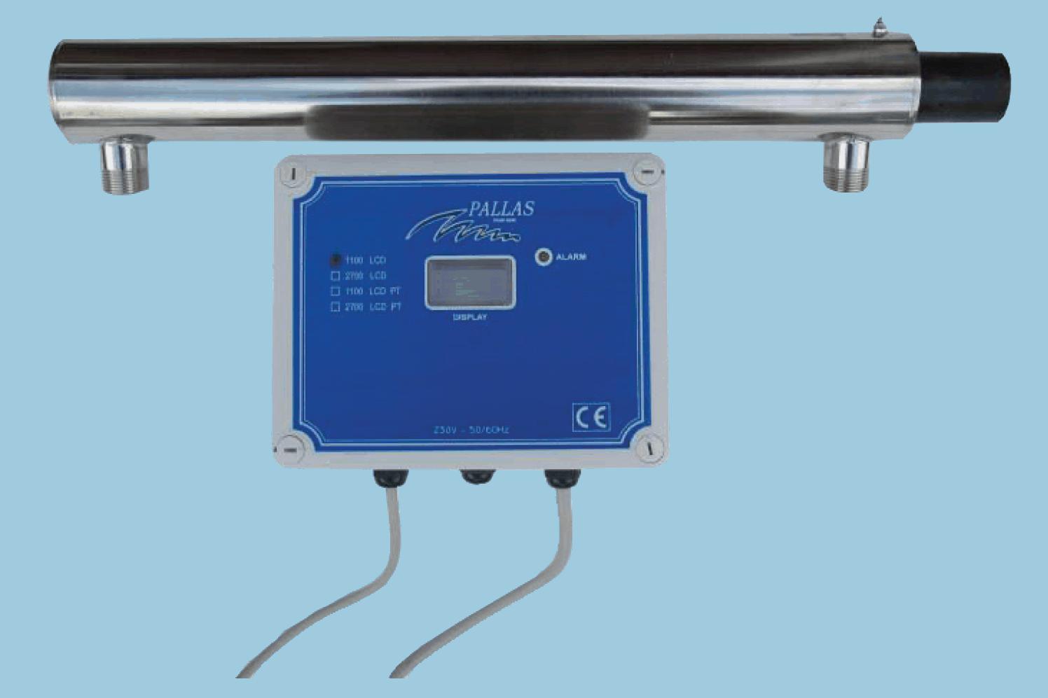 UV-Filter mot bakterier och virus i ditt dricksvatten